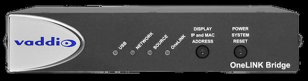 vaddio onelink bridge av interface