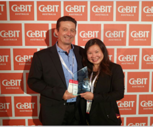 christie wins cebit business award for community support