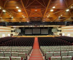 l-acoustics milad hall tehran