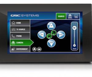 qsc q-sys touchscreen controller